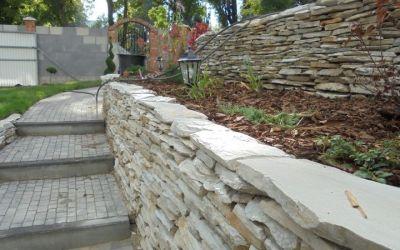OGRODY A&J kamień w ogrodzie