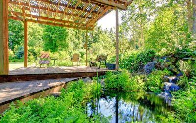 Ogrody A&J altanka ogródowa